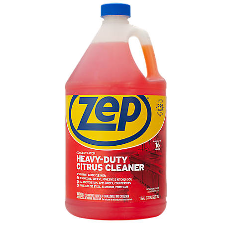 Zep Commercial 128 oz. Citrus Heavy-Duty Degreaser, ZUCIT128CA2