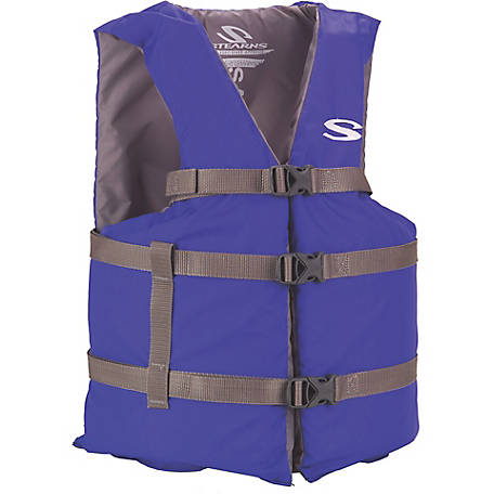 Stearns Adult Classic Series Life Jacket, Universal, Blue