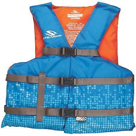 Stearns Adult Classic Series Vest, Universal, Blue