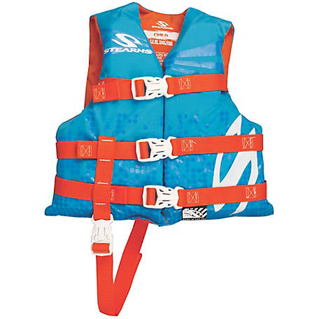 Stearns Child Classic Series Nylon Vest, Blue