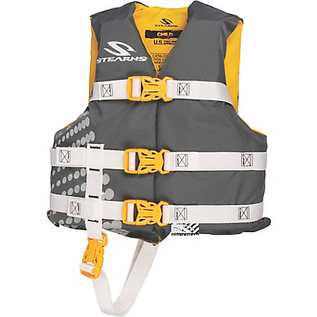 Stearns Child Classic Series Nylon Vest, Gold