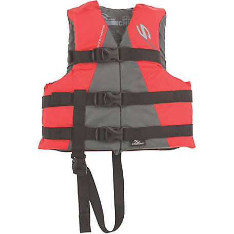 Stearns Child Watersport Classic Series Vest, Red