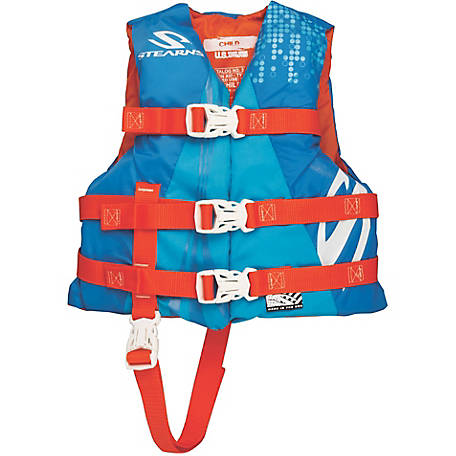 Stearns Child Watersport Classic Series Vest, Blue/Orange