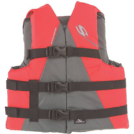 Stearns Youth Watersport Classic Series Vest, Red