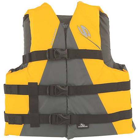 Stearns Youth Watersport Classic Series Vest, Yellow