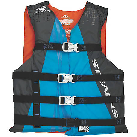 Stearns Adult Watersport Classic Series Vest, Universal, Blue