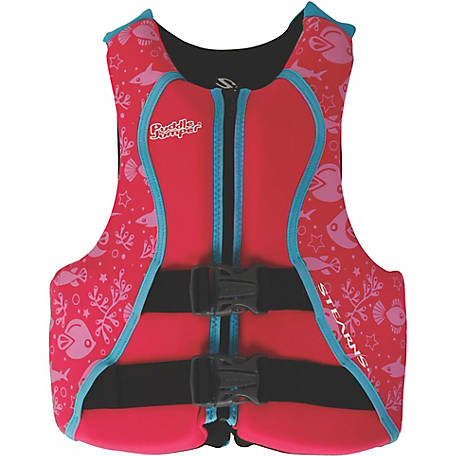 Puddle Jumper Youth Hydroprene Life Jacket, Pink
