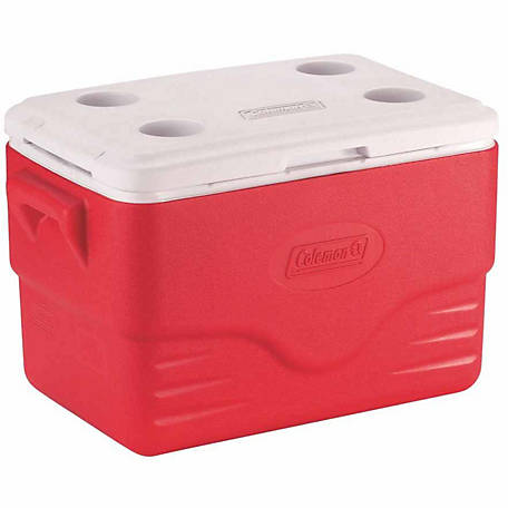 Coleman 36 qt. Performance Cooler, Red