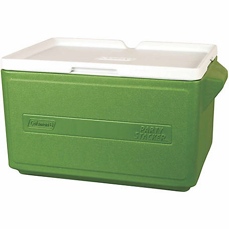 Coleman 48-Can Party Stacker Cooler, Green