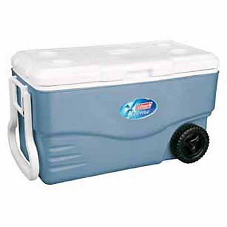Coleman 100 qt. Xtreme 5 Day Wheeled Cooler