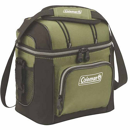 Coleman 9-Can Cooler, Green