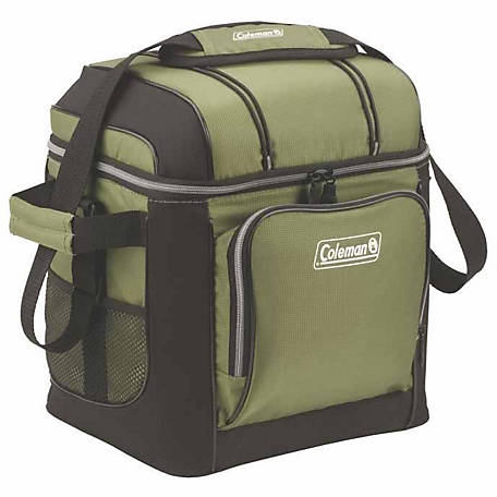Coleman 30-Can Cooler, Green)