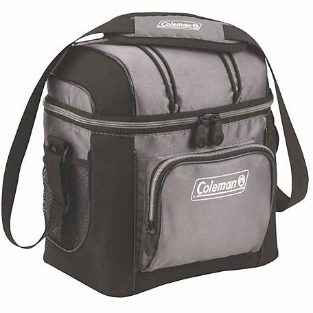 Coleman 9-Can Cooler, Gray