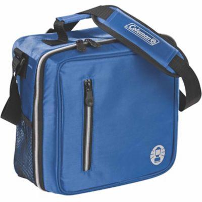 Coleman Messenger Bag Cooler; Blue
