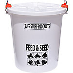 Tuff Stuff Feed and Seed Storage with Locking Lid, 12 gal.