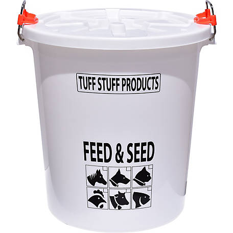 Tuff Stuff Feed and Seed Storage with Locking Lid, 17 gal., FS17