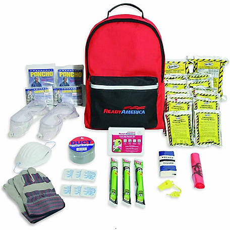 Ready America 2-Person Tornado Survival Kit 3-Day Pack