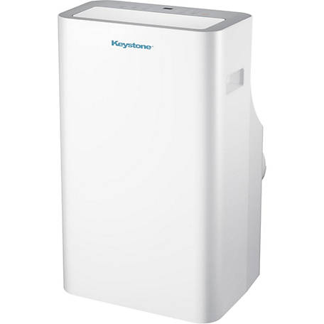 Keystone Products 12,000 BTU Extra-Quiet Portable Air Conditioner with 'Follow Me' LCD Remote Control