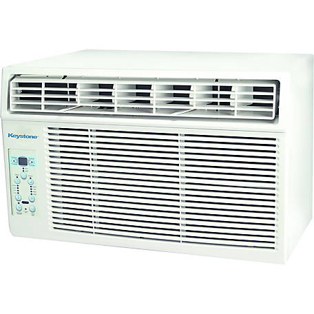 Keystone Products Energy Star 8,000 BTU Window-Mounted Air Conditioner with 'Follow Me' LCD Remote Control