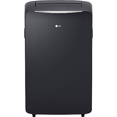 LG 14,000 BTU 115V Portable Air Conditioner with 12,000 BTU Supplemental Heating, Graphite Gray