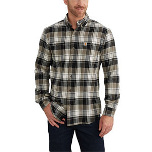 Carhartt Men 39 S Trumbull Plaid Flannel Shirt At Tractor