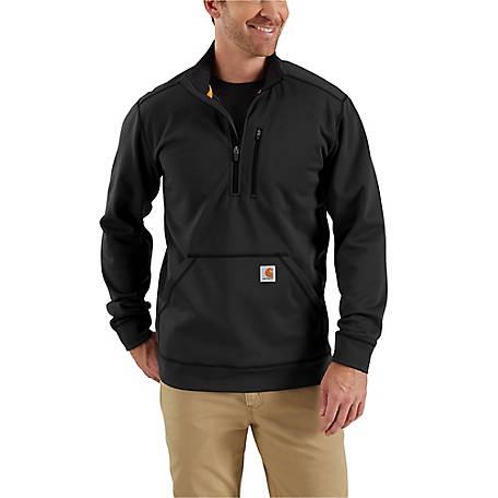9128a411bbc46 Carhartt Men s Force Extremes Mock Neck Half Zip Sweatshirt