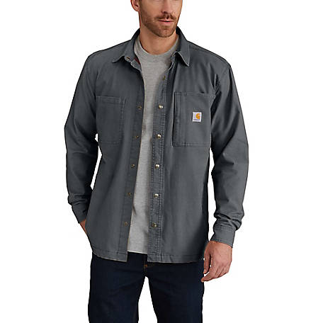 Carhartt Men's Carhartt Rugged Flex Rigby Shirt Jacket, 102851