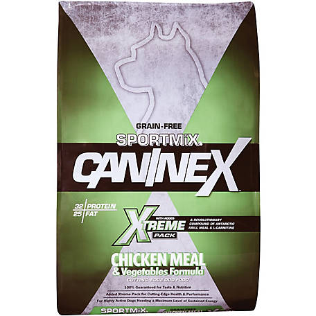 Sportmix Caninex Chicken Meal Vegetables Formula 40 Lb Bag At Tractor Supply Co