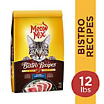 Meow Mix Bistro Recipes Seared Tuna Flavor, 12 lb.
