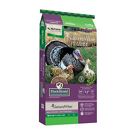 Nutrena NatureWise All Flock Pellet 40 lbs, 40 lb. bag