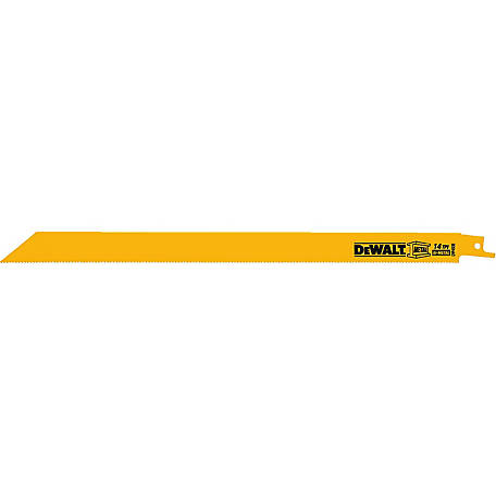 DeWALT 12 in. Metal Cutting Reciprocating Saw Blade