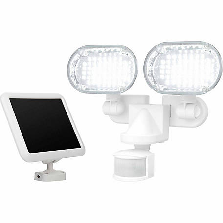 Sunforce 100 LED Solar Motion Light with Corner Mounting Feature
