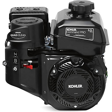 Kohler Command PRO Commercial Series 5.5 HP Ch255-3152 Engine, Horizontal Shaft, Recoil Start, EPA And Carb Compliant