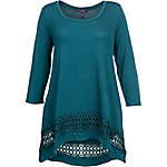 Olivia Sky Women's 3/4-Sleeve Knit Top