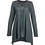 Olivia Sky Women's Lace-Up Sweater