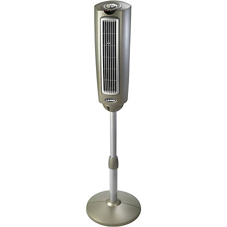 Lasko 52 in. Space-Saving Oscillating Pedestal Tower Fan with Remote Control