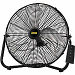 Lasko Stanley Max Performance 20 in. High Velocity Floor/Wall Mount Fan with Remote Control