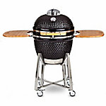 Louisiana Grill 24 in. Ceramic Kamado Charcoal Grill