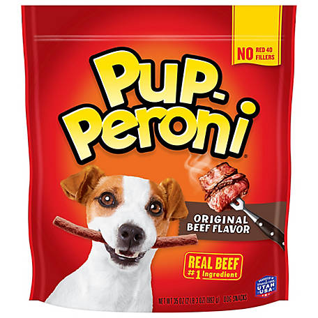 Pup-Peroni Original Beef Flavor Dog Snacks, 38 oz.