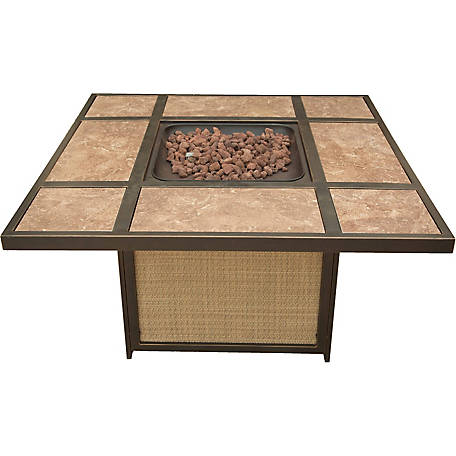 Hanover Traditions Tile-Top Fire Pit