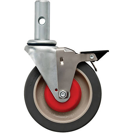 Magliner 5 in. Convertible Truck Caster with Brake, 1000 lb.