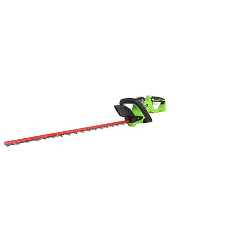 GreenWorks 22332 G-MAX 40V 24-Inch Cordless Hedge Trimmer