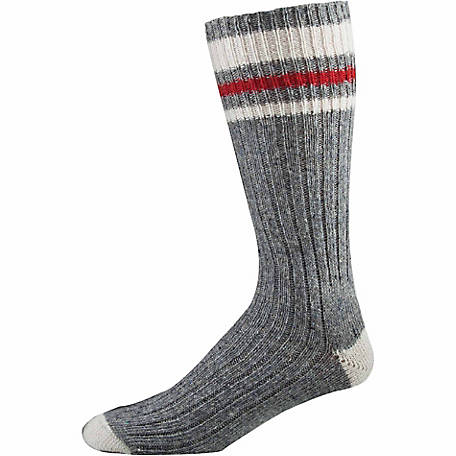 Stanfield's Men's 3-Pack Wool Blend Work Socks