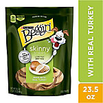 Purina Beggin' Made in USA Facilities Low Fat Dog Treats, Skinny Strips Real Turkey Flavor, 23.5 oz. Pouch