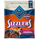 Blue Buffalo BLUE Sizzlers Natural Bacon-Style Dog Treats, 15 oz.