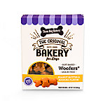 Three Dog Bakery Grain-Free Soft-Baked Wafers with Peanut Butter and Banana Flavors, 13 oz.