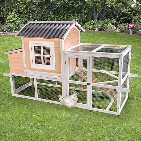 Ware Manufacturing Big Dutch Barn with Pen Chicken Coop