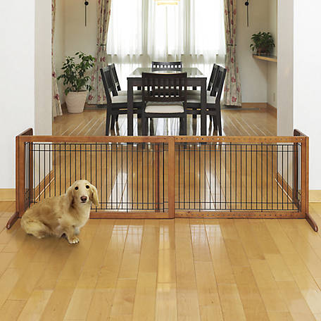 Richell Freestanding Pet Gate, Large, 94136