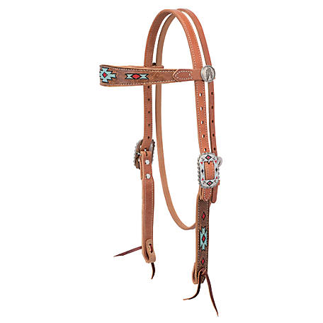 Weaver Leather Native Spirit Browband Headstall