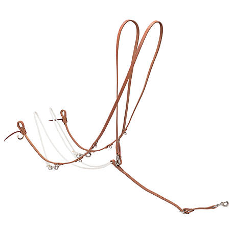 Weaver Leather Roper Style Harness Leather German Martingale